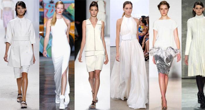 модные белые платья 2018, тенденции и тренды на фото 5