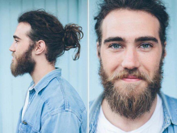 длина волос в креативных мужских стрижках 2018 фото 1