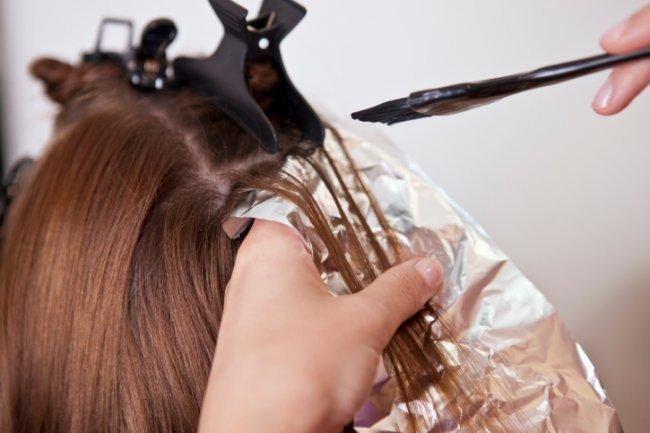 мелирование волос в домашних условиях пошаговая инструкция на фото