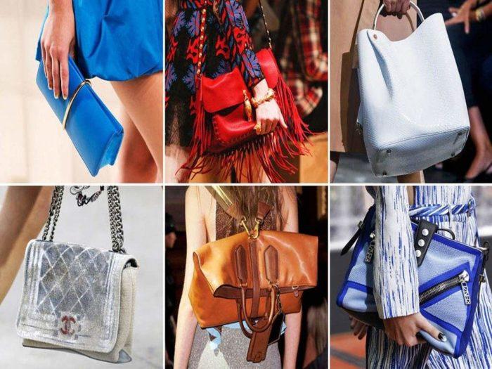 летние сумки 2018, фото модных тенденций 5