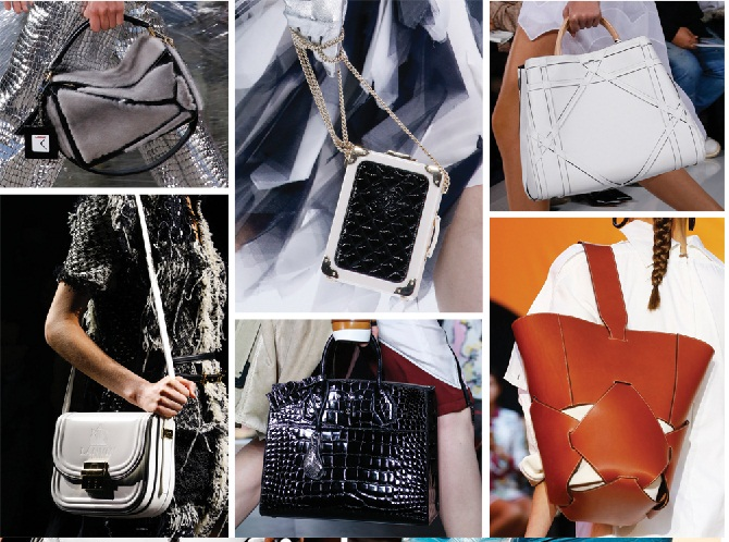 летние сумки 2018, фото модных тенденций 6