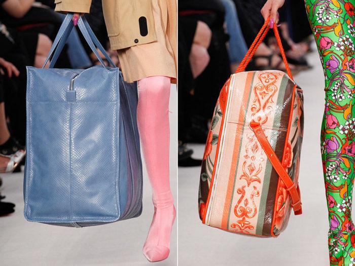 летние сумки 2018, фото модных тенденций 8