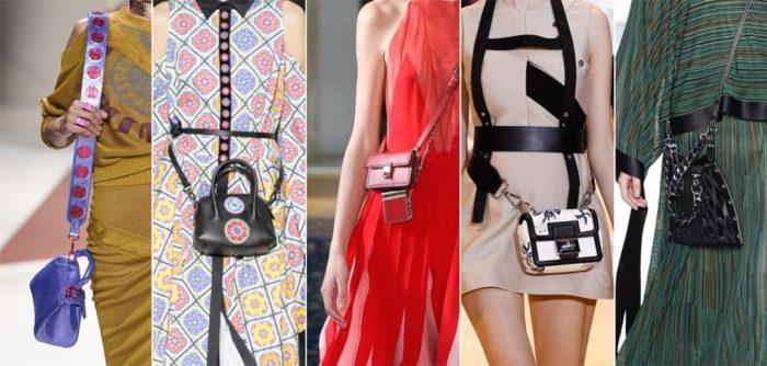 летние сумки 2018, фото модных тенденций 9