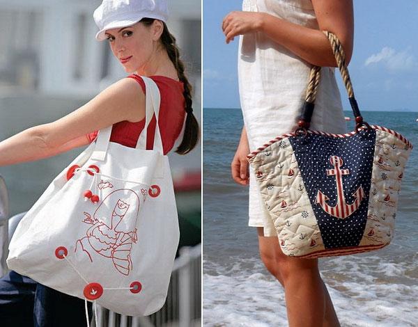 модные пляжные сумки лето 2018, фото 7
