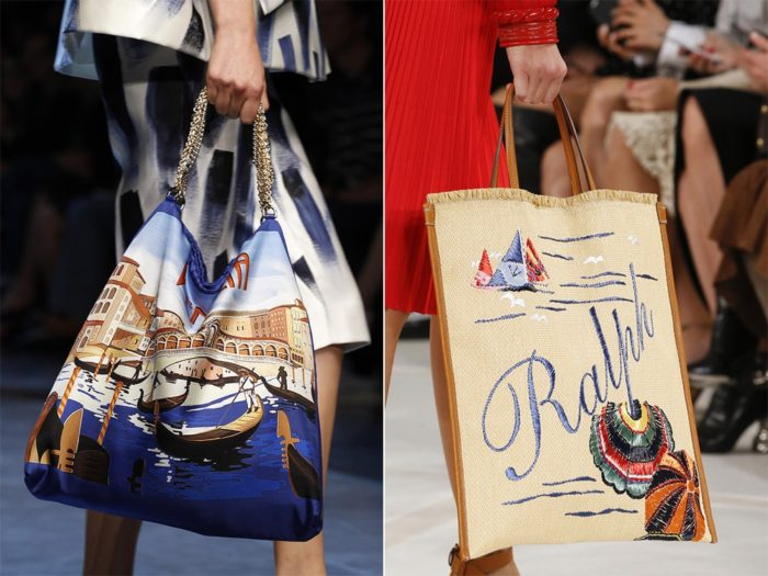 модные пляжные сумки лето 2018, тенденции и тренды фото