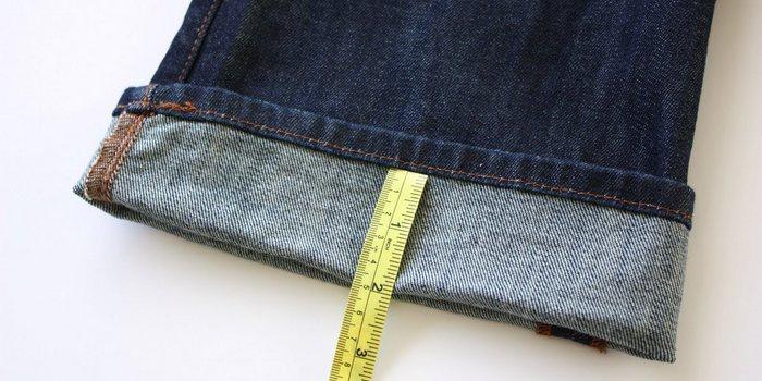 как подшить джинсы вручную, на швейной машине, с сохранением фирменного шва