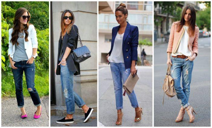 с чем носить модные фасоны летних джинсов 2018 1
