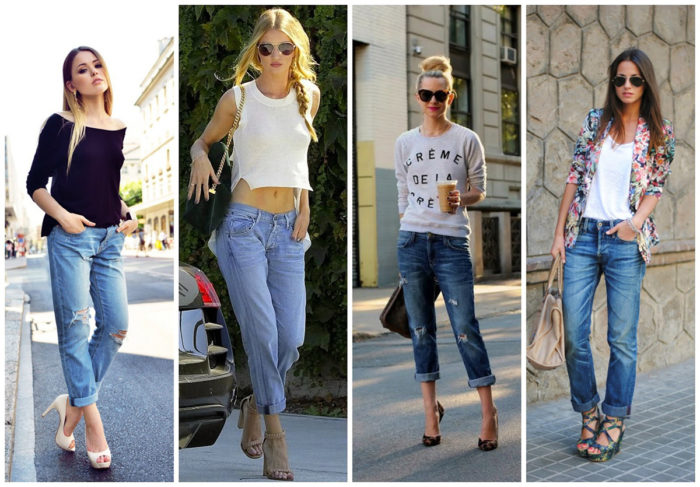 с чем носить модные фасоны летних джинсов 2018 3
