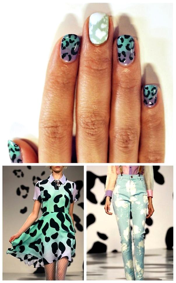 леопардовый принт на ногтях, фото идеи 3