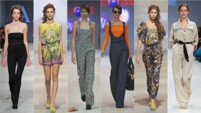 модные комбинезоны весна-лето 2018, фото 1