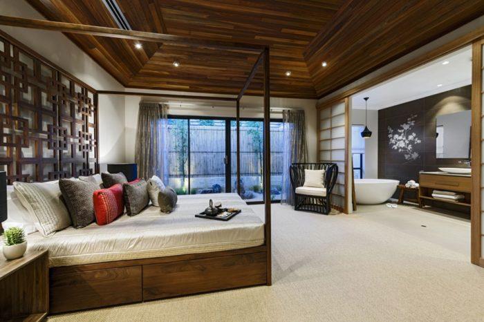 квартира в японском стиле, дизайн на фото 3
