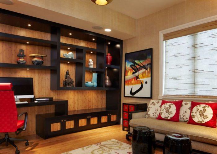 мебель для квартиры в японском стиле 2