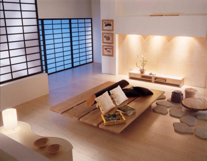 мебель для квартиры в японском стиле 3