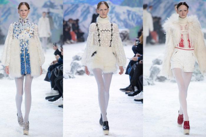 модные колготки зима 2018, фото 3