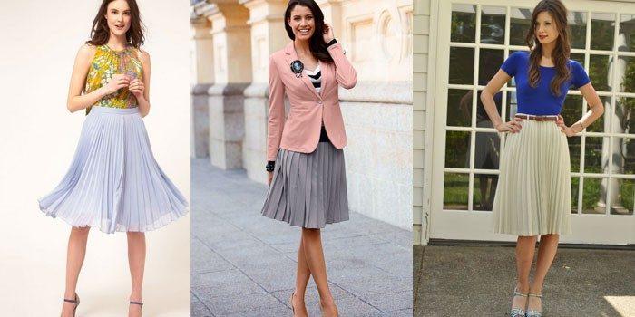 модные тенденции и тренды на юбки весна-лето 2018 фасоны на фото
