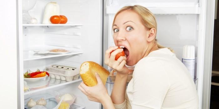 питание во время стресса