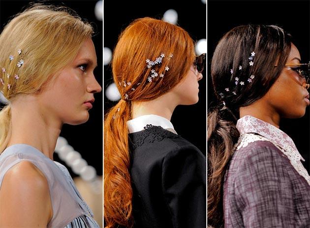 аксессуары для волос весна-лето 2018, модные и красивые варианты на фото 1