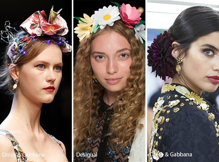 аксессуары для волос весна-лето 2018, модные и красивые варианты на фото 3