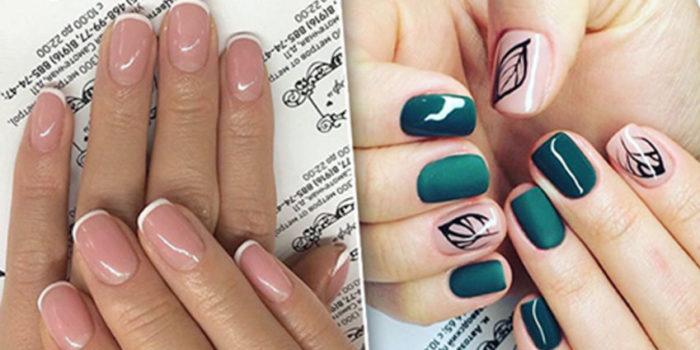 маникюр на короткие ногти 2018: модные тенденции, тренды и новинки на фото 12