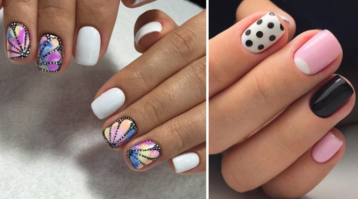 маникюр на короткие ногти 2018: модные тенденции, тренды и новинки на фото 3