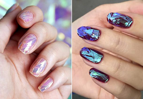 модный и красивый маникюр на короткие ногти 2018, фото новинки 1