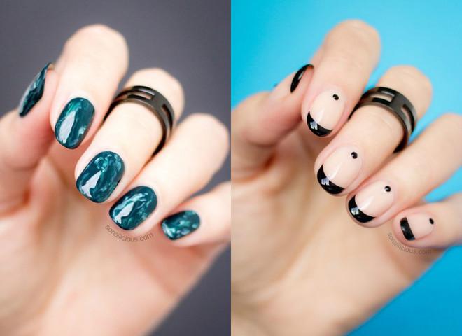 маникюр на короткие ногти 2018: модные тенденции, тренды и новинки на фото 5