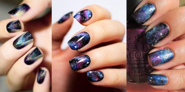 модный и красивый маникюр на короткие ногти 2018, фото новинки 12