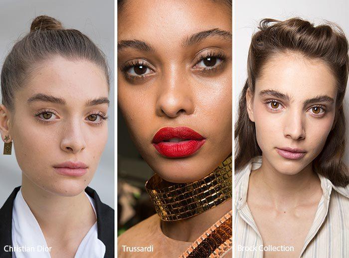 мода на брови 2018, модные фото 1