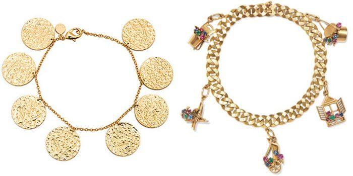 золотые браслеты, модные тенденции и тренды 2018 фото 2