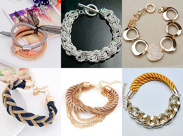 золотые браслеты, модные тенденции и тренды 2018 фото 1