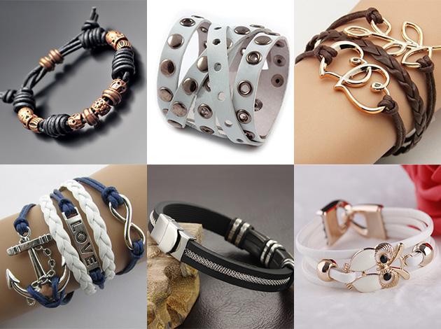 материалы для изготовления модных браслетов 2018 фото 3