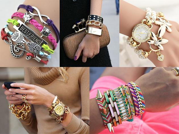 модные и красивые браслеты 2018 фото 1