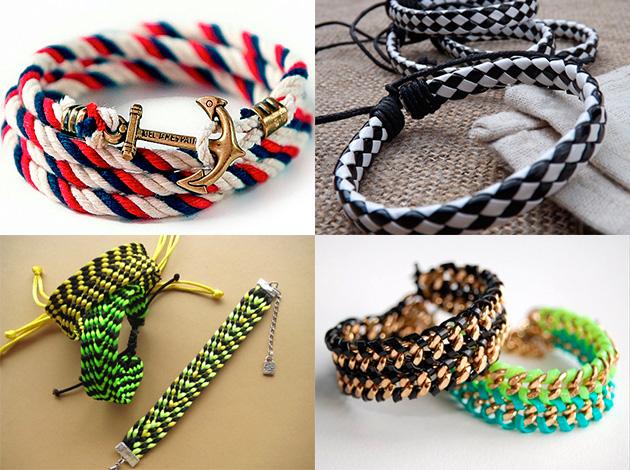 модные и красивые браслеты 2018 фото 7