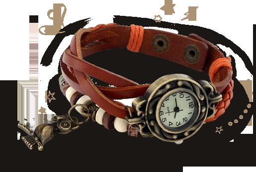 винтажные часы в стиле ретро фото 1