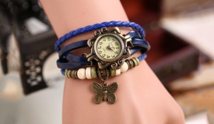 винтажные часы в стиле ретро фото 2