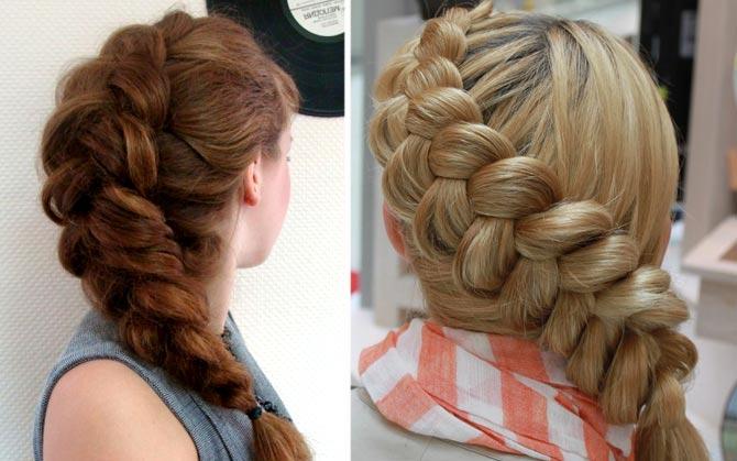 французская коса фото 1