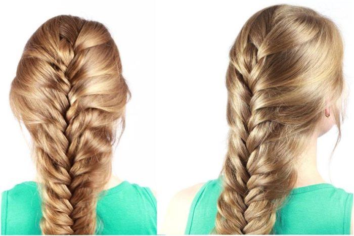 французская коса фото 2