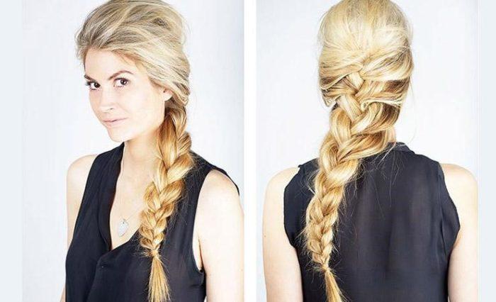 коса на бок фото 4