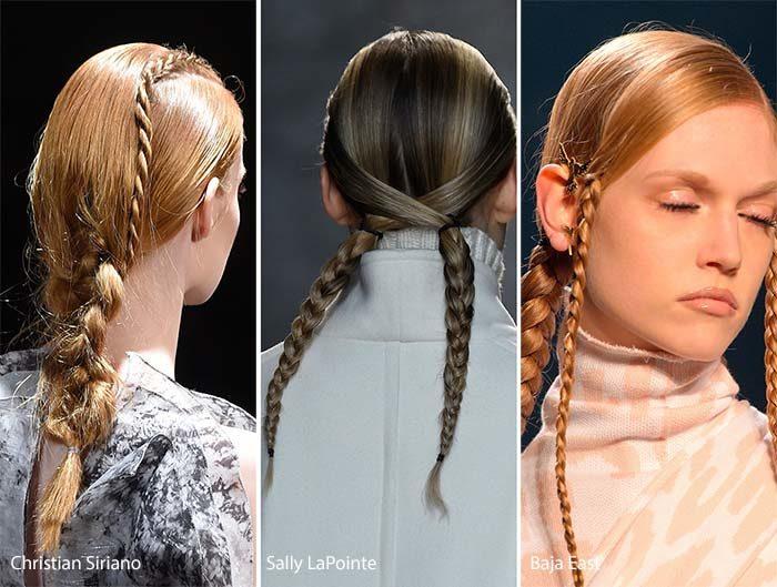самые модные и красивые косы 2018, идеи и новинки на длинные и средние волосы фото 11