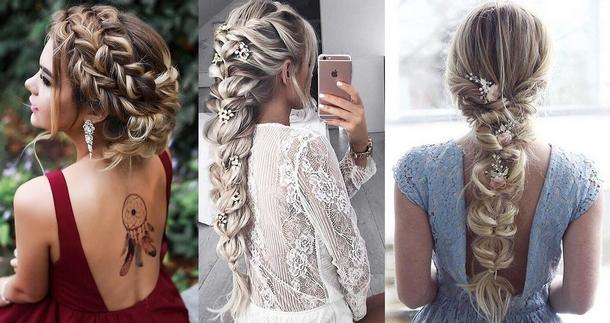 модные женские косы 2018, тенденции, тренды, новинки и идеи на фото 3