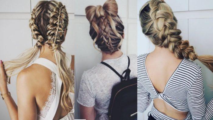 модные женские косы 2018, тенденции, тренды, новинки и идеи на фото 7