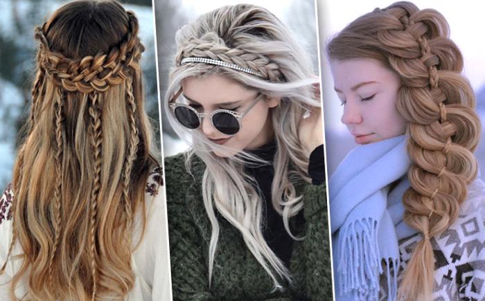 косы 2018, модные тенденции, тренды и новинки на фото 5