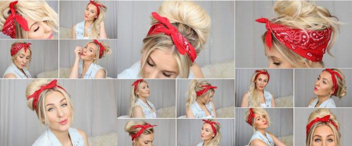 красивые и модные повязки для волос, фото 2018 2