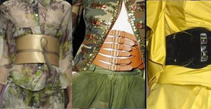 широкие (корсетные) пояса фото 1