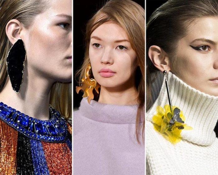 модные серьги весна-лето 2018 фото 2