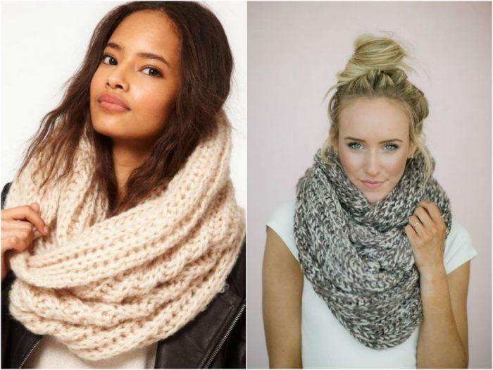 шарф-хомут фото 1