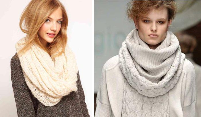 шарф-хомут фото 2