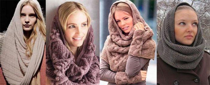 шарф-хомут фото 3