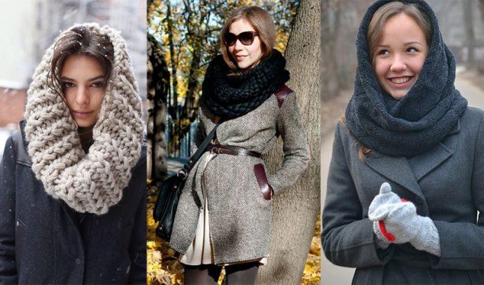 шарф-хомут фото 4