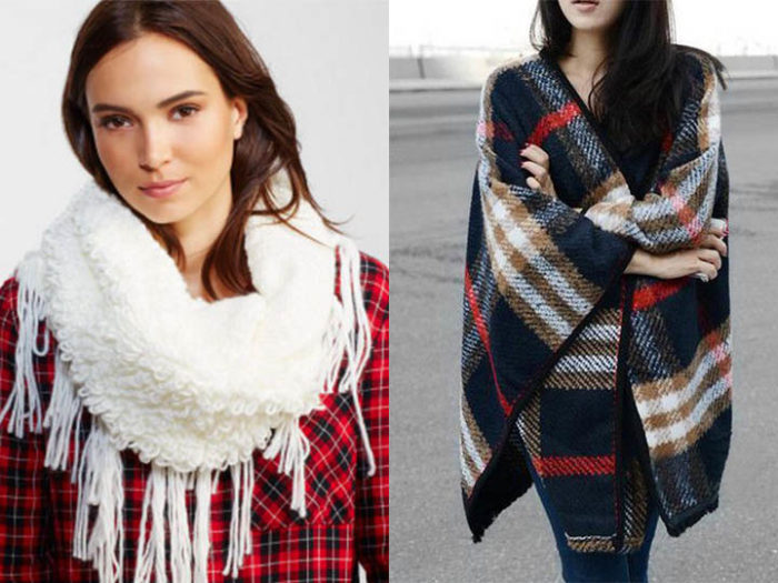 модные шарфы весна 2018: тенденции, тренды и новинки на фото 1